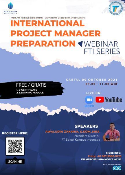 webinar fti series 1 international project manager preparation