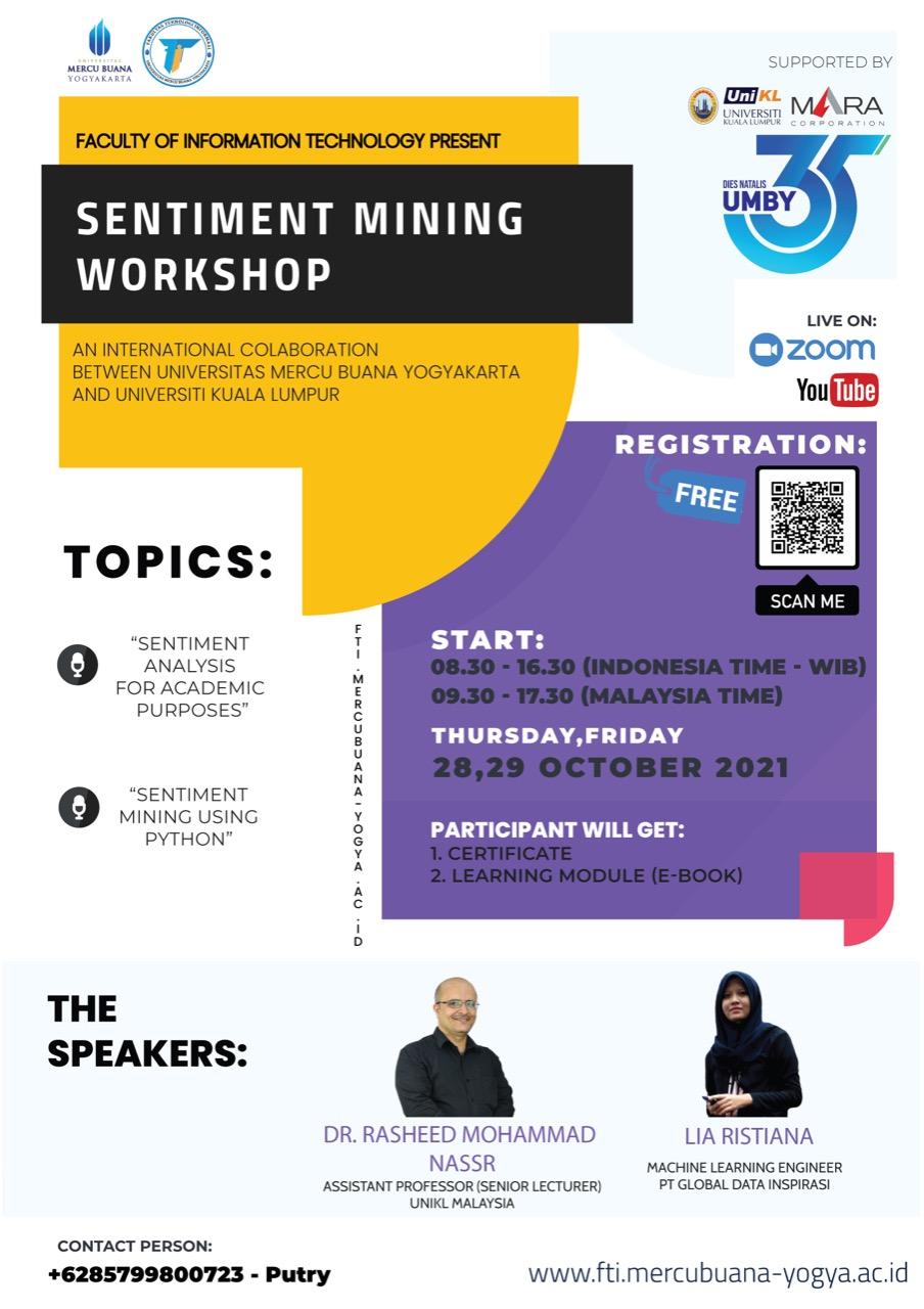 poster workshop fti umby sentimen mining